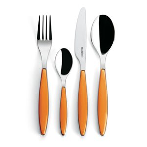 Guzzini Orange 24-pieces Cutlery Sets