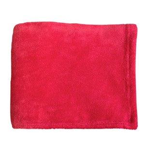 Couverture en polyester rouge 43 po x 55 po par Marin Collection