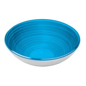 Bol Twist bleu, grand, par Guzzini