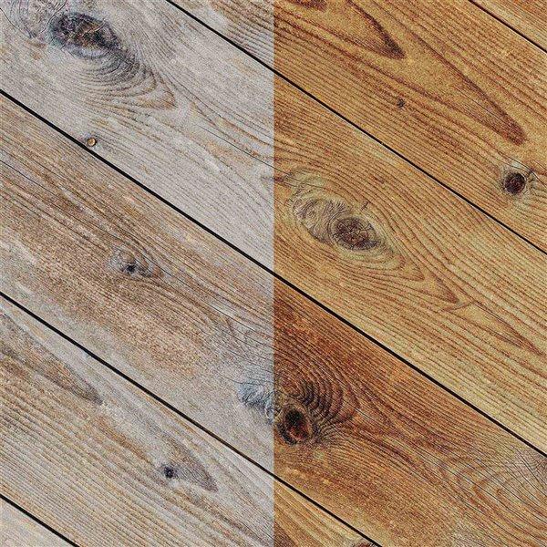 Ensemble de cire et d'huile pour bois, 100% naturel de Caron & Doucet, 2 pièces