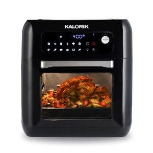 Friteuse à air chaud de Kalorik, 6 L, noir