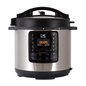 Kalorik 8-L 10-in-1 Stainless Steel Programmable Electric Pressure Cooker