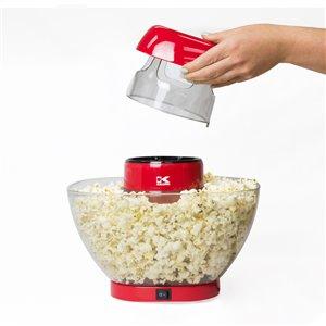 Machine à maïs soufflé de Kalorik, 12 tasses, rouge