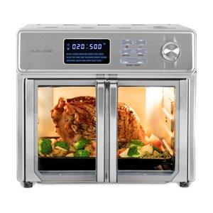 Friteuse à air chaud numérique de Kalorik, 26 L, acier inoxydable