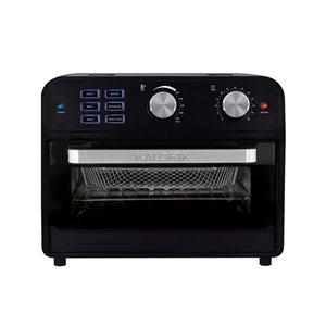 Friteuse à air chaud numérique/grille-pain four de Kalorik, 22 L, noir