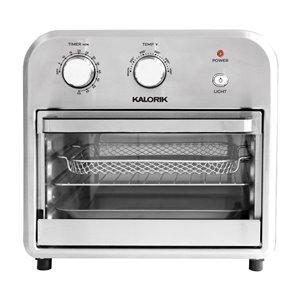 Friteuse à air chaud de Kalorik, 12 L, noir/acier inoxydable