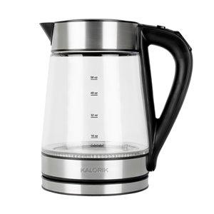 Kalorik 7-Cup 1.7-L Stainless Steel Rapid Boil Digital Electric Kettle