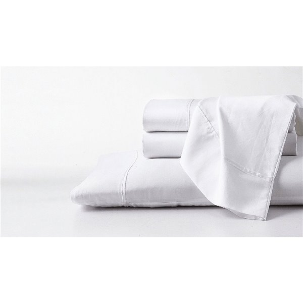 GhostBed Twin Supima Cotton Bed Sheet Set - 3-pieces