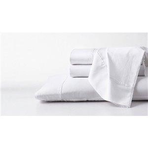 Ensemble de draps en coton pima pour lit simple par GhostBed, 3 mcx
