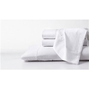 GhostBed Queen Supima Cotton Bed Sheet Set -  4-pieces