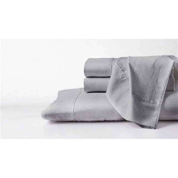 Ensemble de draps en coton pima pour lit double par GhostBed, 4 mcx
