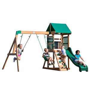 Centre de jeux avec balançoire Buckley Hill de Backyard Discovery, bois