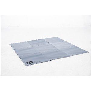 Tapis de préservation de la chaleur pour 6 personnes, gonflable, carré, par MSpa