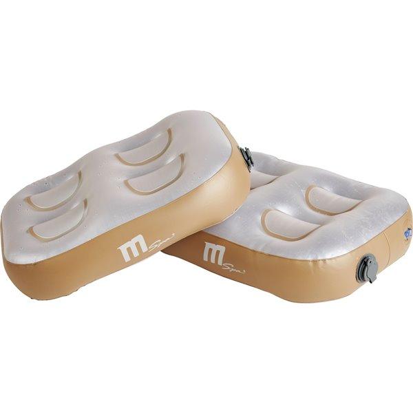 Coussin de sol gonflable pour spa de Mspa, ensemble de 2 pièces