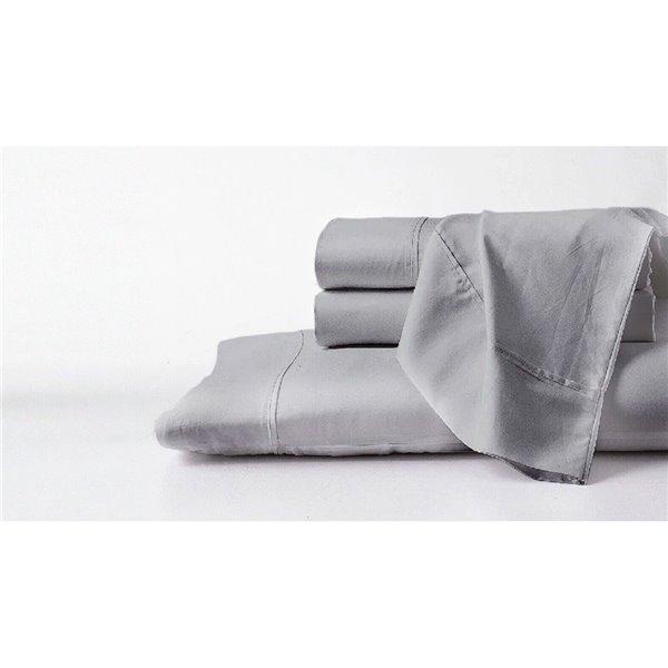 Ensemble de draps en coton pima pour lit simple TG par GhostBed, 3 mcx