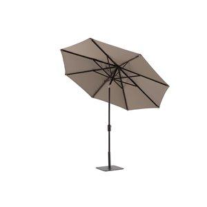 Modern Muse 10-ft Market Patio Umbrella Push-button