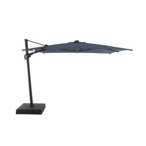 Modern Muse 10-ft Spectrum Indigo Offset Patio Umbrella Crank