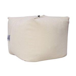 Loungie Magic Pouf Beige Bean Bag Chair