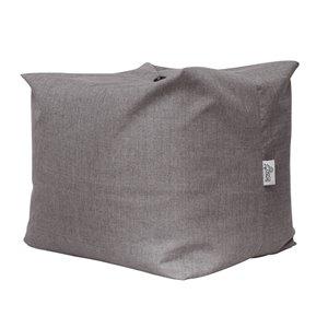 Loungie Magic Pouf Grey Bean Bag Chair