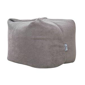 Loungie Magic Pouf in Grey Bean Bag Chair