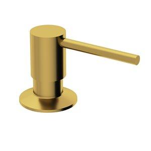Distributeur à savon et à désinfectant doré brossé mat Bolton de Vigo