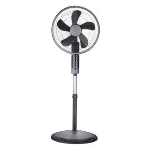 Ventilateur de bureau sur pied d'Ecohouzng à oscillation, 3 vitesses , 12 po