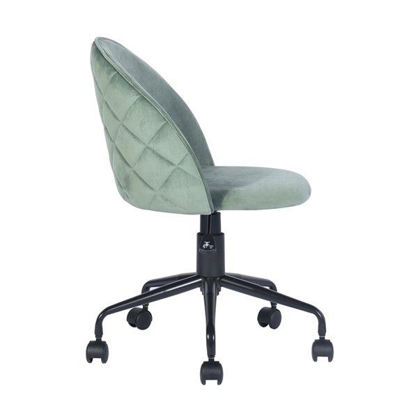 FurnitureR Romba Cactus Contemporary Ergonomic Adjustable Height Swivel Desk Chair