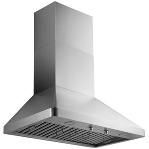Ancona 36-in Ducted Stainless Steel Wall-Mounted Range Hood