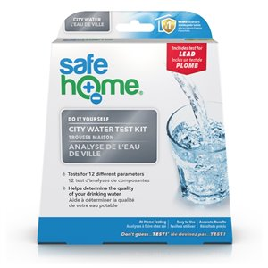 Trousse d'analyse d'eau, eau de ville DIY, SafeHome