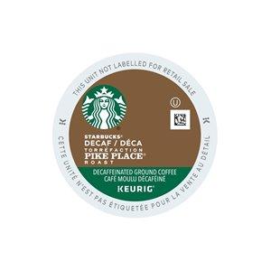 Keurig Starbucks Decaffeinated Pike Place Roast 96-Pack of K-Cup Coffee Pods