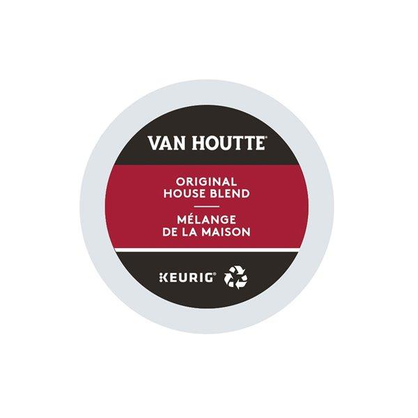 Ensemble de 96 capsules de café K-Cup par Keurig de Mélange de la maison de Van Houtte