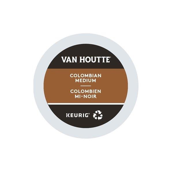 Ensemble de 96 capsules de café K-Cup par Keurig de Colombien mi-noir de Van Houtte