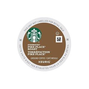 Ensemble de 96 capsules de café K-Cup par Keurig de Torréfaction Pike Place de Starbucks