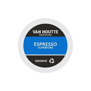 Ensemble de 96 capsules de café K-Cup par Keurig de Espresso Superiore de Van Houtte
