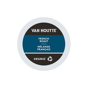 Ensemble de 96 capsules de café K-Cup par Keurig de Mélange français de Van Houtte