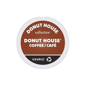 Ensemble de 96 capsules de café K-Cup par Keurig de Collection Donut House de Donut House