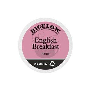 Ensemble de 96 capsules de café K-Cup par Keurig de English Breakfast de Bigelow