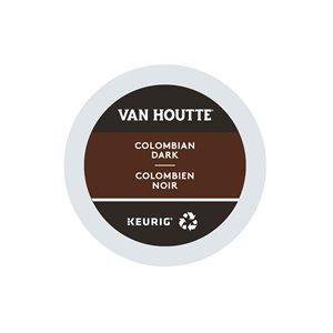 Ensemble de 96 capsules de café K-Cup par Keurig de Colombien noir de Van Houtte
