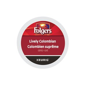 Keurig Folgers Lively Columbian 96-Pack of K-Cup Coffee Pods