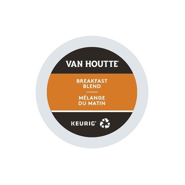 Ensemble de 96 capsules de café K-Cup par Keurig de Mélange du matin de Van Houtte