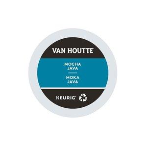 Ensemble de 96 capsules de café K-Cup par Keurig de Moka Java de Van Houtte