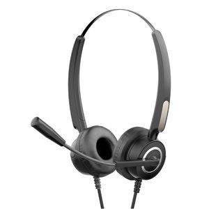 Casque d'écoute à réduction de bruit DHE-8000 par Xtrike Me