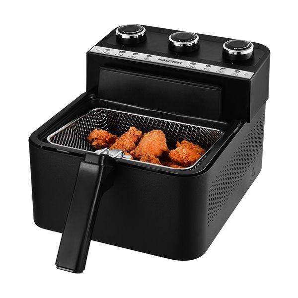 Kalorik Black 1-L Air and Deep Fryer