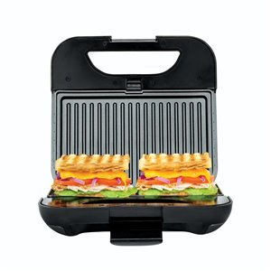 Kalorik 8.5-in x 4.7-in Stainless Steel Non-Stick Multifunction Grill