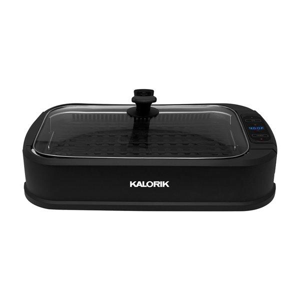 Kalorik 13.5-in x 8-in Black Residential Grill