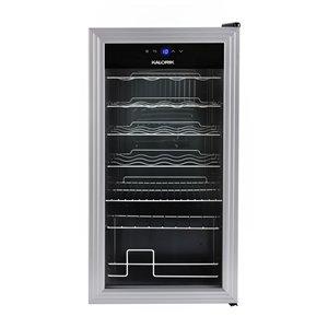 Réfrigérateur à vin et à boissons 2-en-1 de Kalorik, 5,74pi³, argent