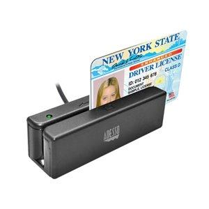 Lecteur de carte de crédit mobile MSR-100 par Adesso