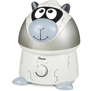 Crane Adorable Sheep 1-gal. Tabletop Ultrasonic Humidifier (for Rooms 401 - 1000-sq. ft.)