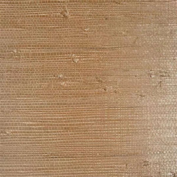 Papier peint Falkirk Elgin de Dundee Deco en toile de ramie 3D, 54 pi² beige sans colle à appliquer sur le mur