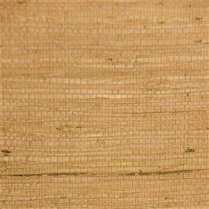 Papier peint Falkirk Elgin de Dundee Deco en toile de ramie 3D, 54 pi² sépia sombre sans colle à appliquer sur le mur